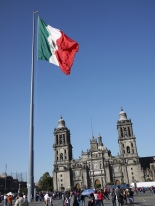 Mexican pride in the Zócalo